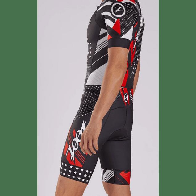 Trisuit de Triatlon Zoot TEAM Speed SS Racesuit Hombre