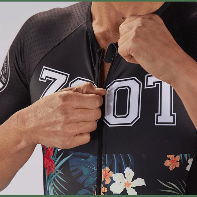Trisuit de Triatlon Zoot 83 Aero SS Racesuit Hombre