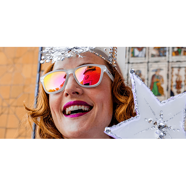 Anteojos de Sol Goodr Glinda's Resting Witch Face