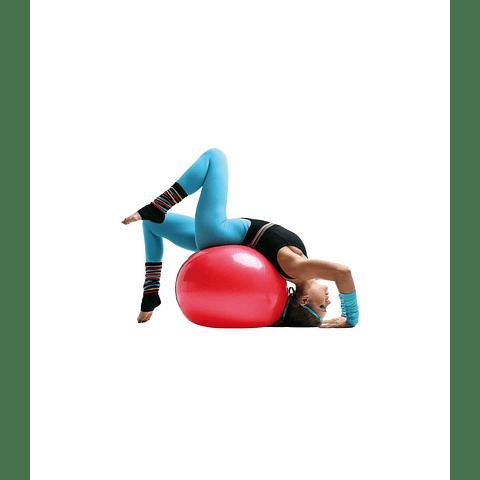 Gymball color rojo Ø65 cm