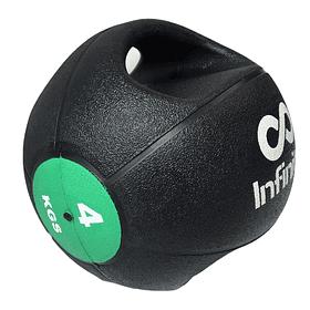 Balón medicinal 4 kg Doble Agarre