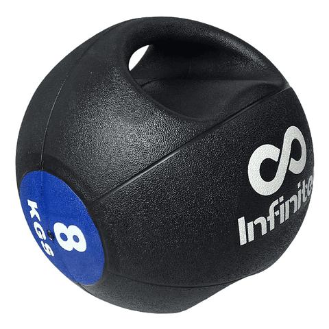 Balon medicinal 8 kg Doble Agarre