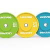 Disco Olímpico Bumper 10 Kg Competición