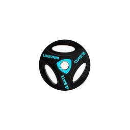 Disco Olímpico con Triple Agarre 2,5 kg