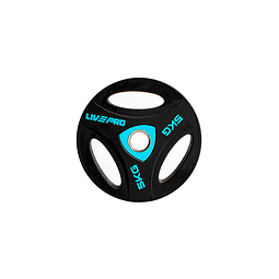 Disco Olímpico con Triple Agarre 5 kg