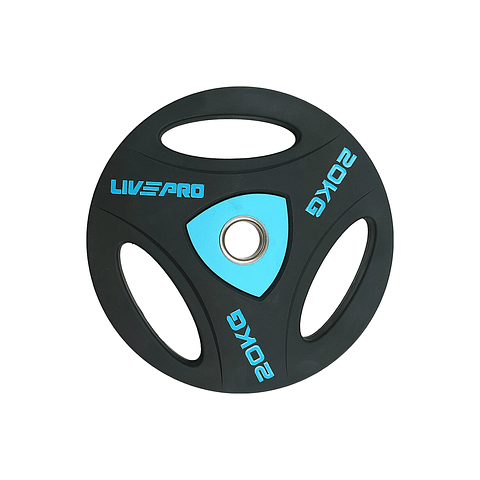Disco Olímpico con Triple Agarre 20 kg