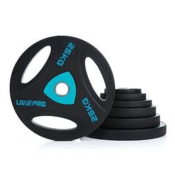 Disco Olímpico con Triple Agarre 25 kg