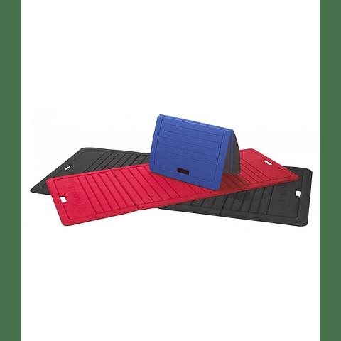 Mat plegable rojo 170x70 cm