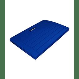 Mat plegable azul 140x60 cm.