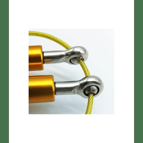 Cuerda de salto de aluminio