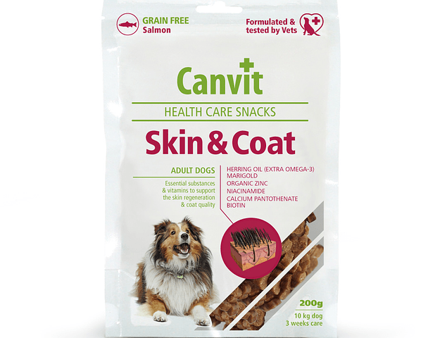 CANVIT Grain Free Skin & Coat Health Care 200gr