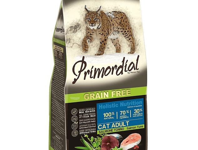 Primordial Grain Free Gato Adulto Atum e Salmão 2kg