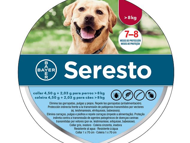 Seresto Cão Grande 70cm para cães com + 8kg