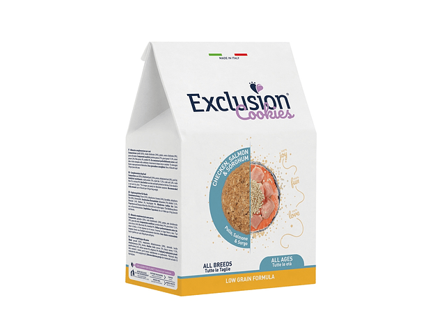 Exclusion Cookies Low Grain Chicken, Salmon & Sorghum 300g
