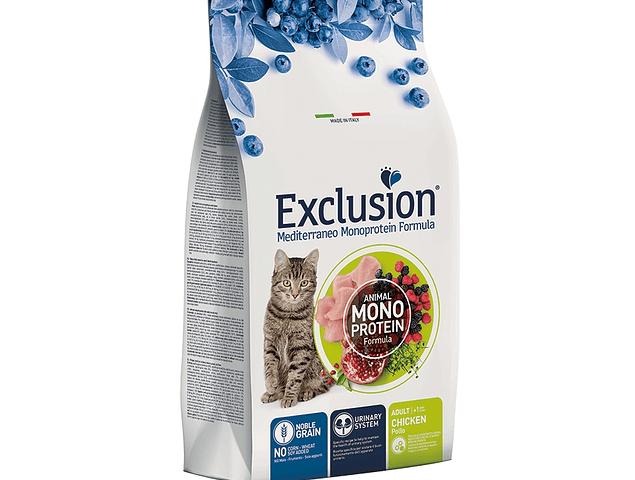 Exclusion Noble Grain Frango Gato Adulto 12Kg