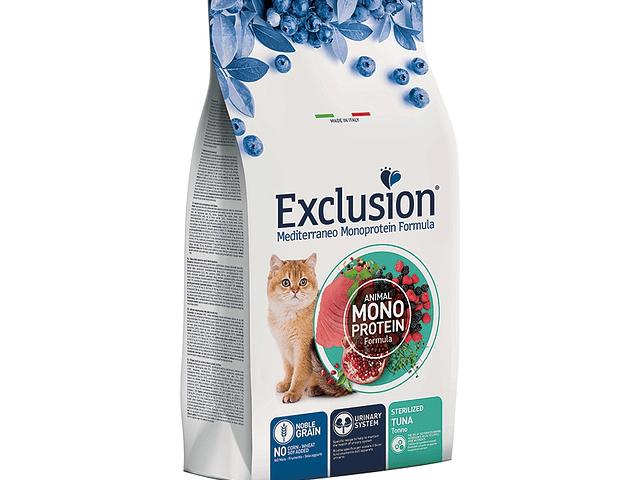 Exclusion Noble Grain Atum Gato Esterilizado 1,5Kg