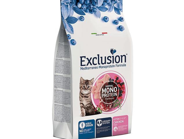 Exclusion Noble Grain Frango Gatinhos 1,5Kg