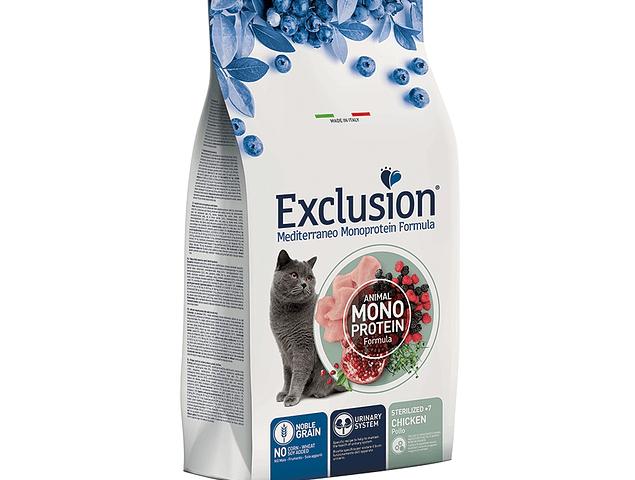 Exclusion Noble Grain Frango Sénior (+7) Esterilizado 1,5Kg