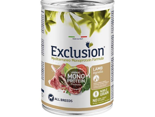 Exclusion Noble Grain Borrego 400g