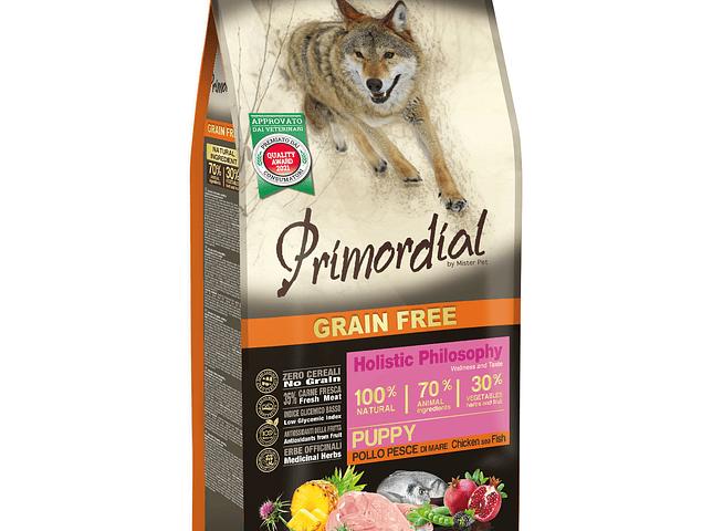 Primordial Grain Free Cachorro Peixe e Frango 2kg
