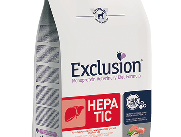Exclusion Diet Hepatic Pork & Rice and Pea Medium/Large 2kg