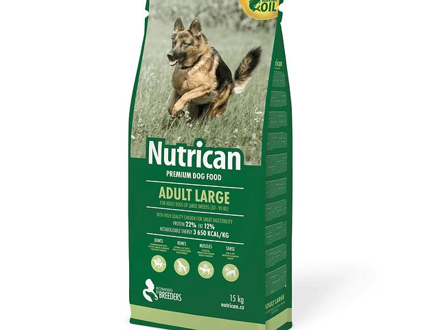 Nutrican Cão Adulto Grande 15Kg + 2Kg Grátis