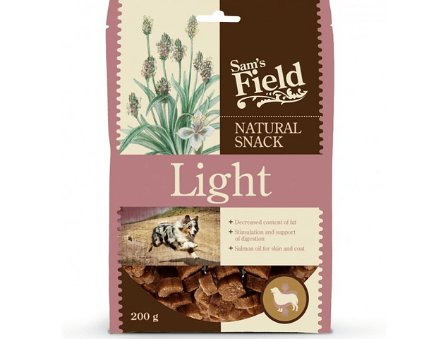 Sam's Field Natural Snack Light 200g