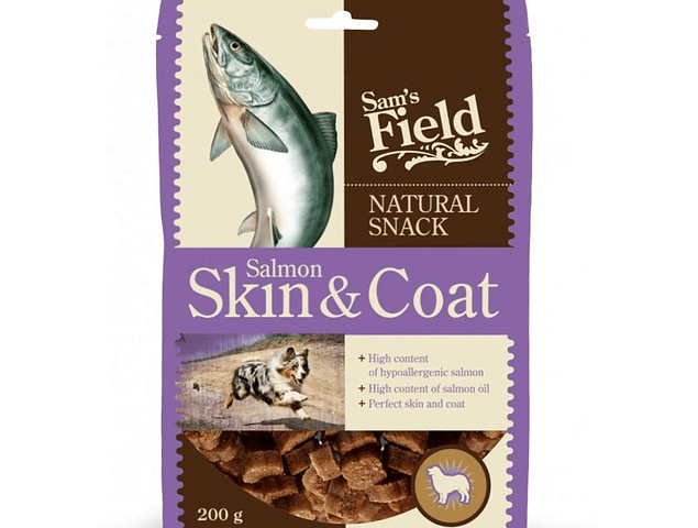 Natural Snack Sam's Field Skin and Coat 200g