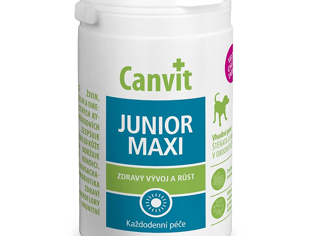 CANVIT Junior Maxi For Dogs 230g (230 pastilhas)