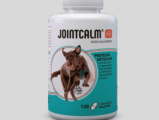 Condroprotetor JointCalm HA Pet 120 Comprimidos palatáveis