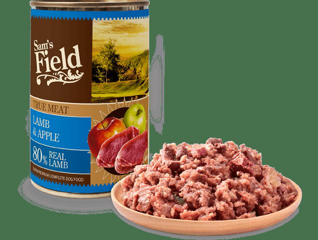 Sam's Field True Meat Borrego e Maçã 400g