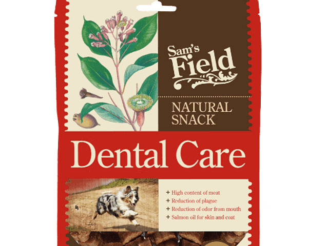 SAM'S FIELD NATURAL SNACK DENTAL 200GR