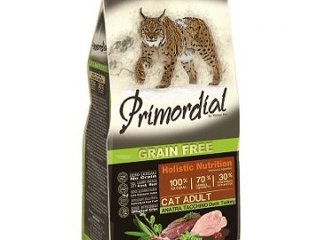 Primordial Grain Free Gato Adulto Peru e Pato 6kg