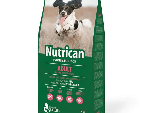Nutrican Cão Adulto 15kg + 2kg Grátis