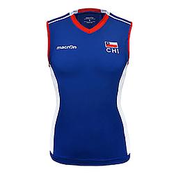 Camiseta Selección Voleibol Mujer Chile Macron