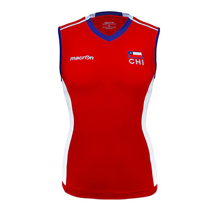 Camiseta Selección Voleibol Mujer Chile Macron - Image 3