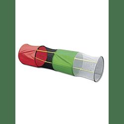 Túnel de tela redondo (240cm x 60cm)