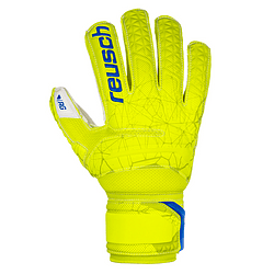 Guante Reusch Fit Control Solid Sd Ferula 2019 Junior (Amarillo)