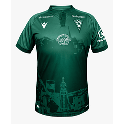 Camiseta Macron Santiago Wanderers 2021 Local Hombre