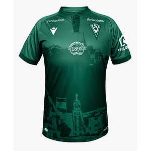 Camiseta Macron Santiago Wanderers 2021 Local Niño
