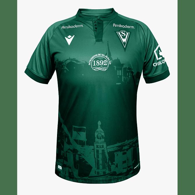 Camiseta Macron Santiago Wanderers 2021 Local Niño - Image 1