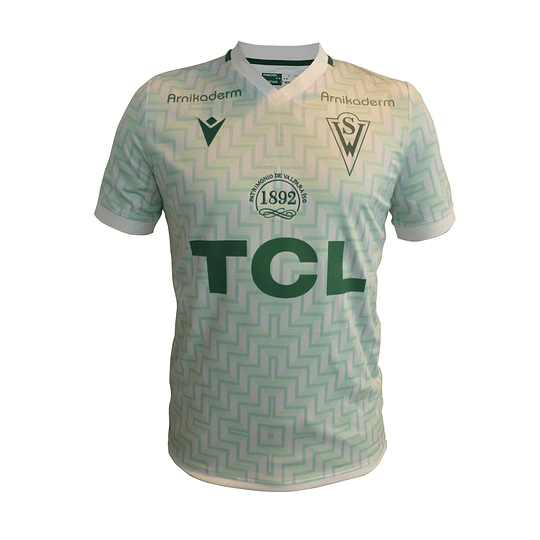 Camiseta Macron Santiago Wanderers 2021 Visita