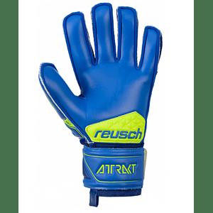 Guante arquero Reusch attrakt sg extra ferula (azulino/ama)