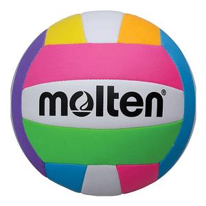 Balón de Vóleibol Playa Molten MS 500 Neón