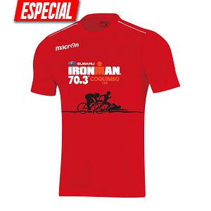 Polera Roja Ironman Coquimbo 2019