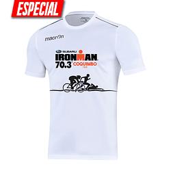 Polera Blanca Ironman Coquimbo 2019