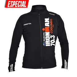 Chaqueta Ciclismo Ironman Coquimbo 2019 Negra