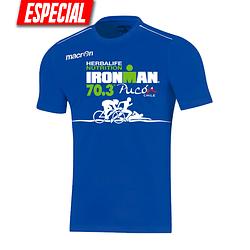 Polera Azul Rigel Ironman Pucón 2019