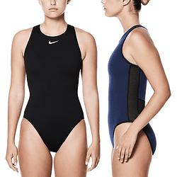 Traje De Baño Nike High Neck NESS93210 Mujer