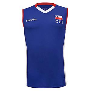 Camiseta Selección Voleibol Hombre Chile Macron